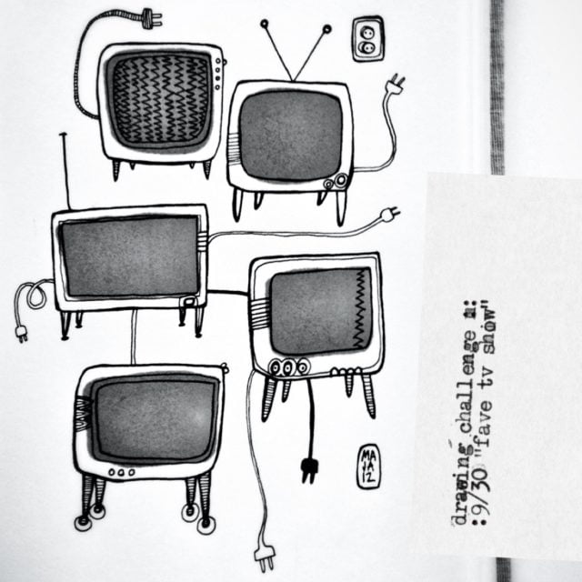 """Drawing challenge 9/30 