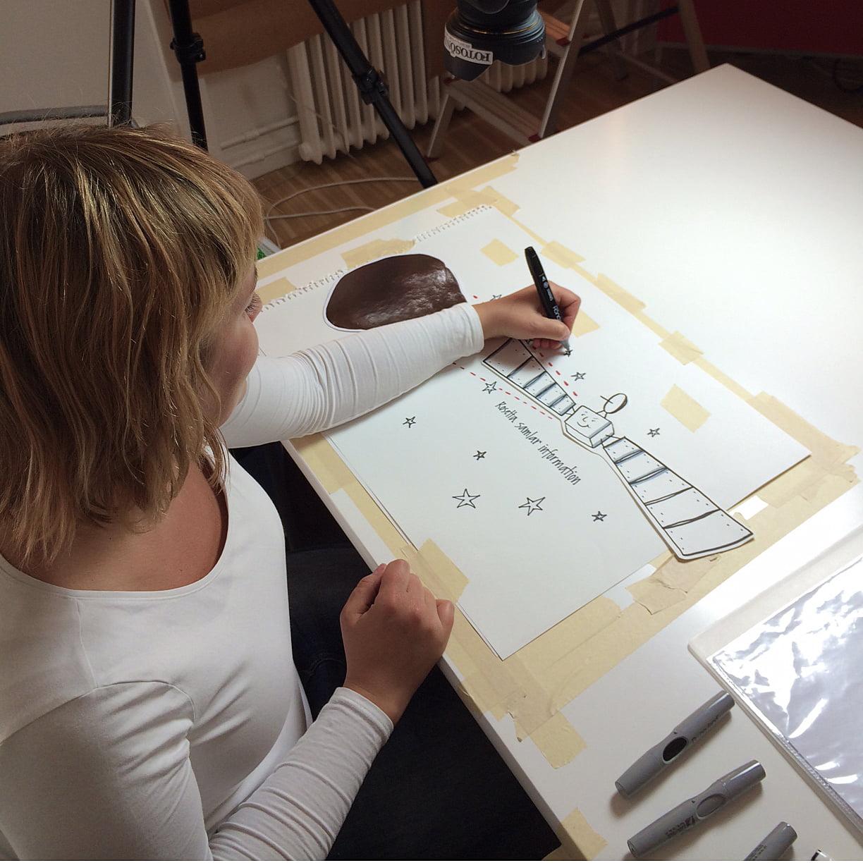 vox-rymdstyrelsen-maja-larsson-illustrator