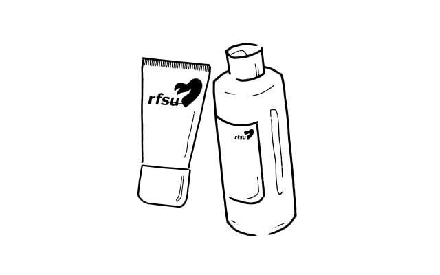 Snabblästa illustrationer för RFSU