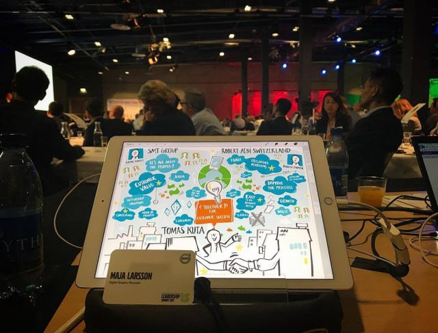 Graphic recording – VOLVO Leadership Summit 2017