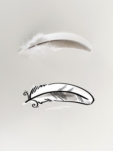 Gratis-ritakurs-rita-med-maja-fjäder