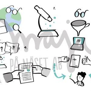 butiksbild-Forskning-symbol-maja-på-näset