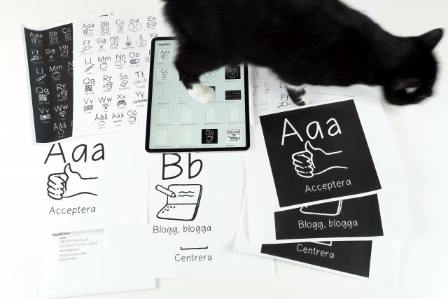 DigiABC – ett vuxenalfabet
