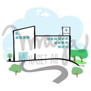sjukvård-sjukhus-illustration-butiksbild