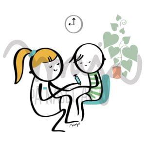 sjukvård-vaccin-vaccination-illustration