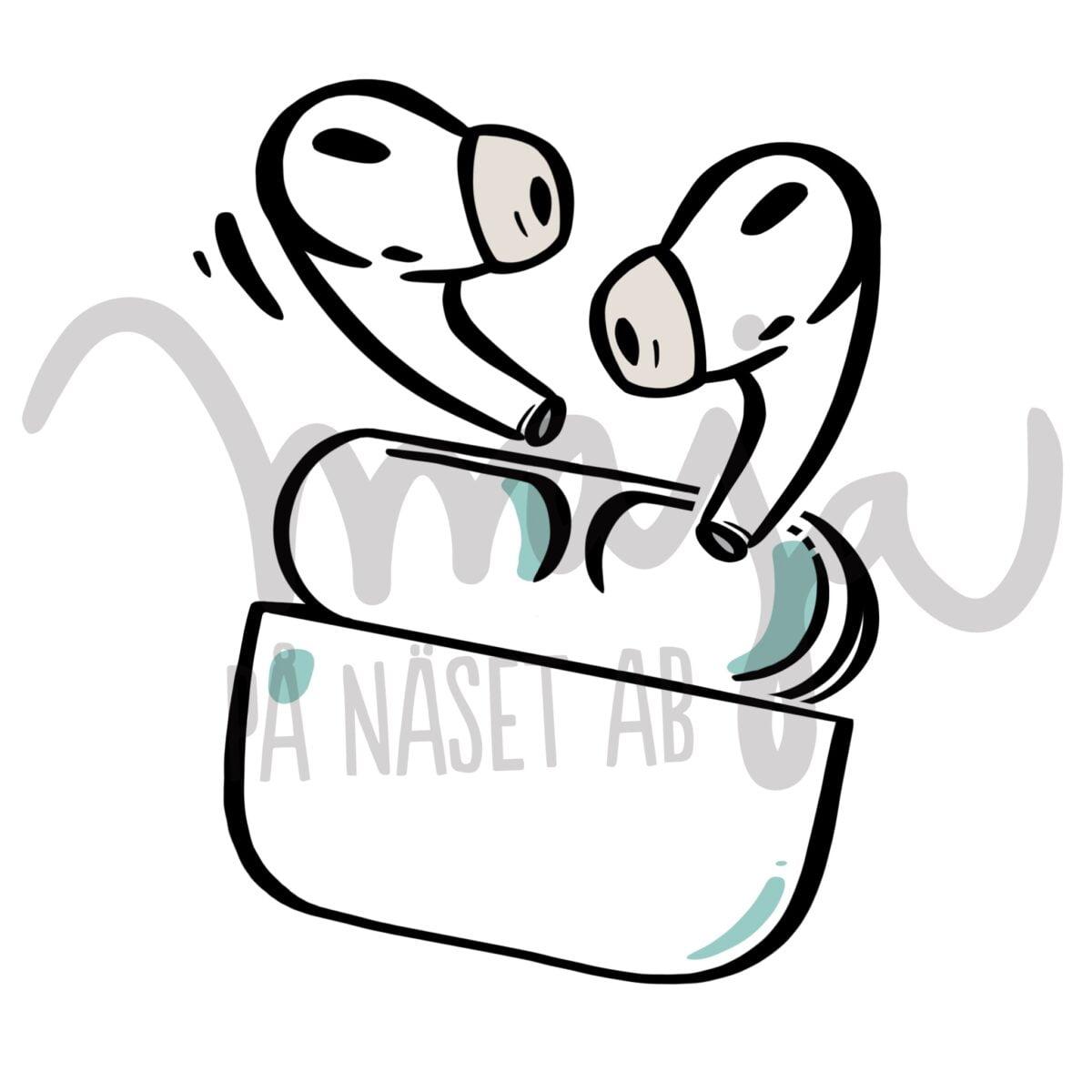 butiksbild-Symbol-illustration-airpods