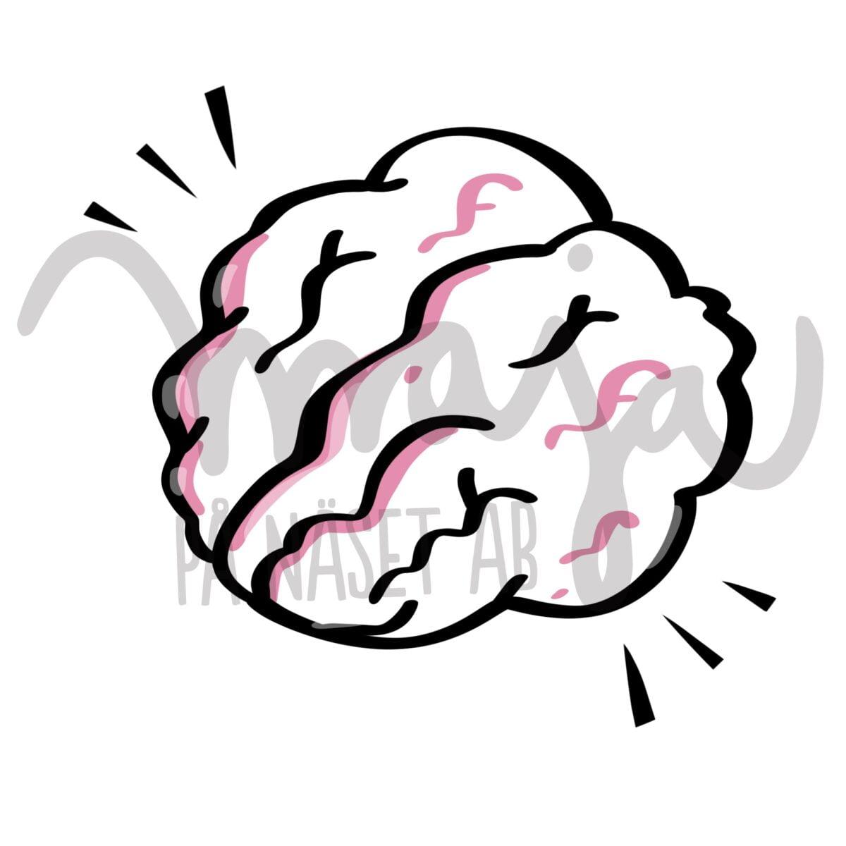 Symbol-illustration-brain-hjärna