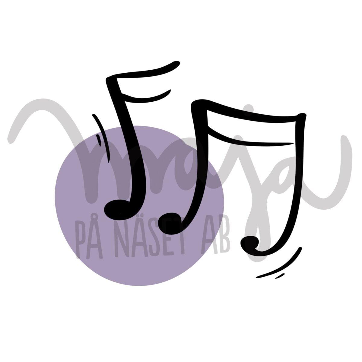 butiksbild-Symbol-illustration-noter